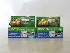 2x NEW BELL 15W SES/E14 Oven Lamp Bulb