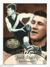 1996 Select Hall of Fame Team of the Century (TC 21) Jack DYER Richmond