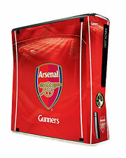 xBox 360 Slim Console Skin Sticker Arsenal Football Club Official Gunners New