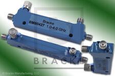 BRACKE BM80427 1 to 4 GHz 10db Directional coupler sim to Pasternack PE2209-10