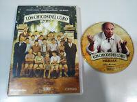 Los Garçons del Chorus Gerard Jugnot Christophe Barratier DVD Espagnol English -