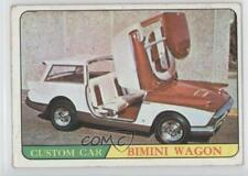 1966 Topps Hot Rods & Custom Cars #29 Bimini Wagon Non-Sports Card 0q3