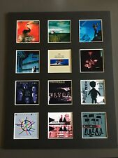 """DEPECHE MODE 14"""" BY 11"""" LP DISCOGRAPHY COVERS PICTURE MOUNTED READY TO FRAME"""