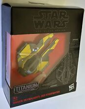 Star Wars Black Series Titanium Anakin Skywalker Jedi Starfighter #22