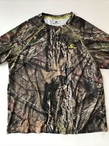 Mossy Oak Break Up Country Men's XL 46/48 Dri More Tech T Shirt LOOKS UNWORN!
