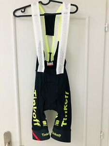 Sportful Classic Men/'s Cycling Bib Shorts Black//Green Fluo Size Large