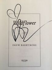"""Wildflower"" by Drew Barrymore SIGNED! MINT!"