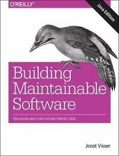 Building Maintainable Software, Java Edition: Ten Guidelines for Future-Proof Co