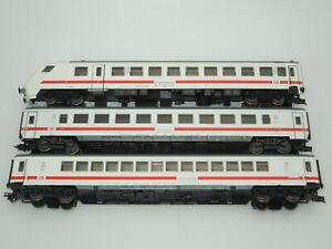 Märklin H0 IC Personenwagenset 3 teilig mit Steuerwagen rot/weiß