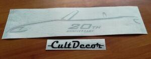 S2000 S2K 20th - Wind Deflector Sticker - Fits Honda s2000 Vtec - Decal