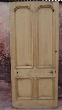 XXL03 (39 x 88 3/4) Extra large old period pine solid wooden front door nr York