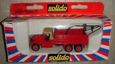 Camion Pompier SOLIDO 3110 GMC.