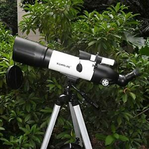Visionking 700x 90 mm  Astronomical Telescope Refractor Finder + Tripod