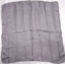 "No Brand Label Men's Handkerchief 16"" X 17"" Gray"