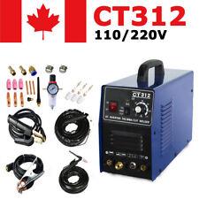 CT312 Plasma Cutter 3in1  110/220V CUT/TIG/MMA Welder DC Welding Machine