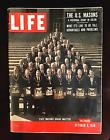 Vintage Life Magazine October 8, 1956 State Masonic Grand Masters