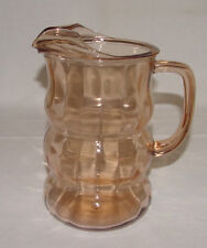 IMMACULATE Vintage Pink Depression Glass ICE-LIP BEVERAGE PITCHER!!