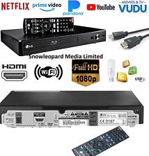 BLU RAY & DVD Player Full HD Up-scaling HDD USB HDMI 4K 3D CD Audio SMART WIFI