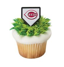 Cake Decorating Cupcake Rings Toppers - MLB Baseball - Cincinnati Reds