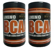 AMINO BCAA PERFECT RATIO!! 6:1:1 Sabor Naranja 1Kg. (2 x 500 g 2 BOTES