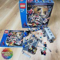 LEGO - Spiderman - Spider-Man's Train Rescue - 4855 RARE!
