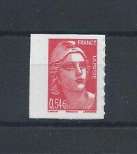 N°96 - Timbre Autoadhésif 0,54 rouge - Marianne de Gandon - 2006