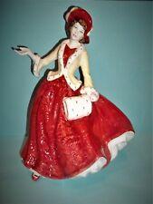 "ROYAL DOULTON ""Christmas Day 1999""  FIGURINE Hn 4214 Made England GLAZED~MINT"