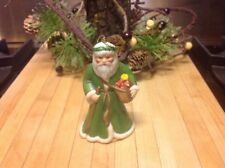 Franklin Mint~Faces Of Christmas Around The World~1988~Father Christmas Ornament