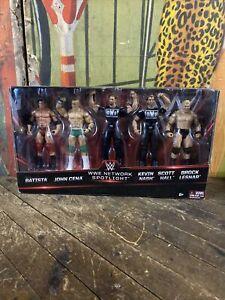 WWE ELITE NETWORK SPOTLIGHT SUPERSTAR COLLECTION FIGURE PACK WWF WCW NWO HASBRO