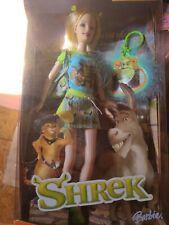2004 Barbie Doll Shrek New in Box