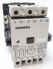 Siemens 3TF49 Leistungsschütz Schütz Contactor 45kW 400V Spule 230V 3TF4922 E:06