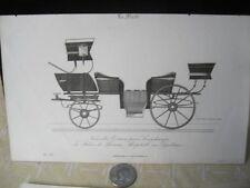 Vintage Print,PLATE 155,Black+White,Pour Lonchamps