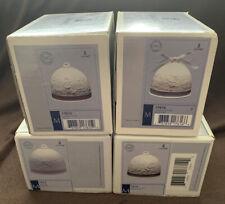 4 Seasons Lladro Spain Porcelain Bell Ornaments 7613 14 15 16 1991-1994 w/ Boxes