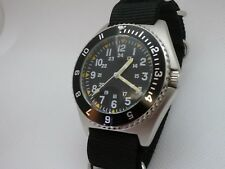 Time Arrow Watch Co. Military Benrus Type II  Submariner homage, Miyota movement