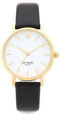 Kate Spade 1YRU0010 Metro Mother of Pearl Dial Leather Strap Women's Watch