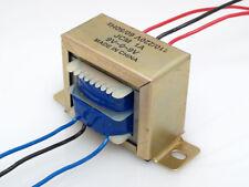 110/220VAC to 18VAC 1000mA 1A Center Tap Power Transformer 9V-0-9V 18V AC 9Vx2