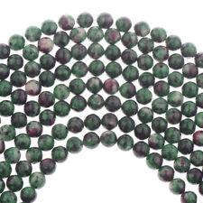 Natural Stone Sea Sediment Gemstone Round Loose Beads DIY Bracelets 4mm 6mm 8mm