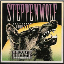 STEPPENWOLF - BORN TO BE WILD, RETROSPECTIVE 1966-1990 2 CD FATBOX 1991 MCA