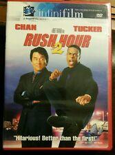 Rush Hour 2 II DVD Movie 2001 Jackie Chan Chris Tucker Comedy Infinifilm Ratner