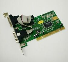 Delock NM9735 Rev C / FG-PIO9835-2S-01-TR21 / 2x Serial Port PCI