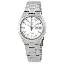 Dial Mens Watch Snkg17J1 Seiko Series 5 Automatic White