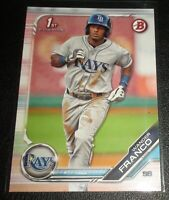 Wander Franco Rookie/Prospect 2019 Bowman 1st BP-100 Tampa Bay Rays