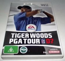 Tiger Woods PGA Tour 07 Nintendo Wii PAL *Complete* Wii U Compatible