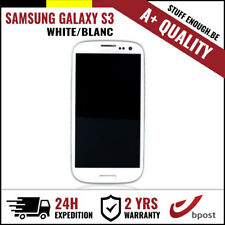 A+ LCD TOUCH SCREEN DISPLAY/SCHERM/ÉCRAN WHITE FOR SAMSUNG GALAXY S3 I9300