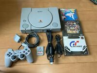 Sony PlayStation 1 Console SCPH-7000 with Games