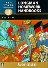 Longman Homework Handbooks: Key Stage 3 German pack: Book & cassette, Mckeane, M