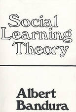 NEW Social Learning Theory by Albert Bandura