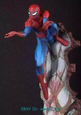 """MARVEL The Blue Amazing Spider-Man 2 LAST STAND 18"""" Statua Figura Statuina Nuovo con Scatola"""