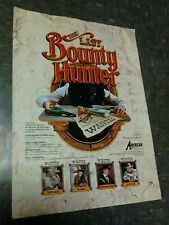 American Laser Games THE LAST BOUNTY HUNTER flyer- good original