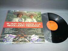 EL DUO GALA CANTA A LA REVOLUCION - VINILO ( LP  )  - PORTADA VG  / DISCO VG +